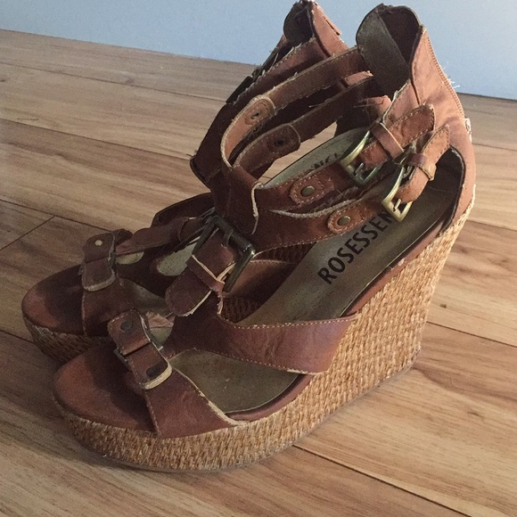 Japanese High Wedge Sandals